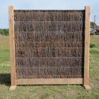 Brush Panel Fencing