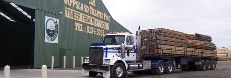 Gippsland Treated Pine Sawmill Yard